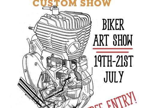 PAST EVENT Fri 19th - Sun 21st July: Losers vs Underdogs Biker Show