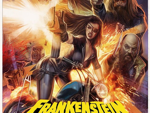 12th Jan: Billy Chainsaw's SUBTERRANEAN presents… the EXCLUSIVE UK PREMIERE of FRANKENSTEIN CREATED