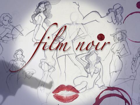 "17th October:                                          AMC presents ""Film Noir"" life drawi"