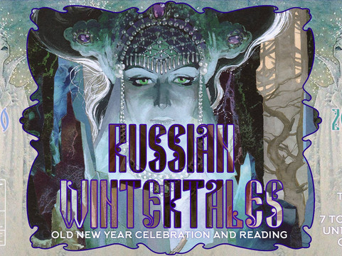 Tues 15th Jan Life Drawing: Russian Wintertales