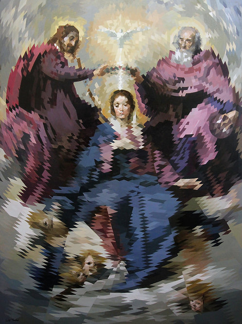 Coronation Of The Virgin By Will Teather
