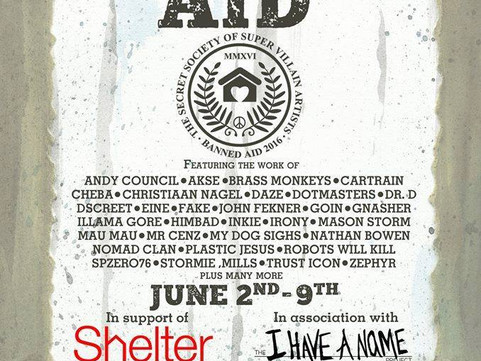 2nd June 2016 - Banned Aid - A charity event for SHELTER