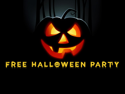 28th Oct: FREE Halloween Party