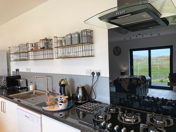 The Lambing Shed kitchen counter