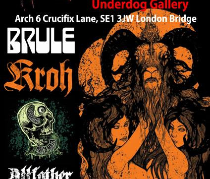 17th Dec: RETRIBUTION ALIVE at The Underdog