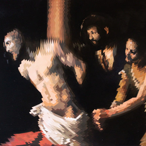 Christ at the Column (after Caravaggio)