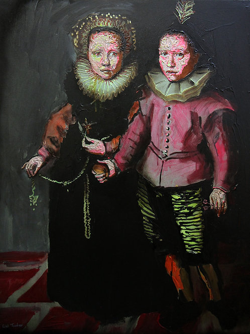 Two Children By Will Teather