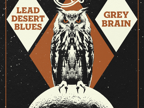COMING UP FRI 6TH DEC: Oak, Lead Desert Blues & Gray Brain Live