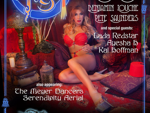 23rd Sept: The Blue Fez - Burlesque and Cabaret