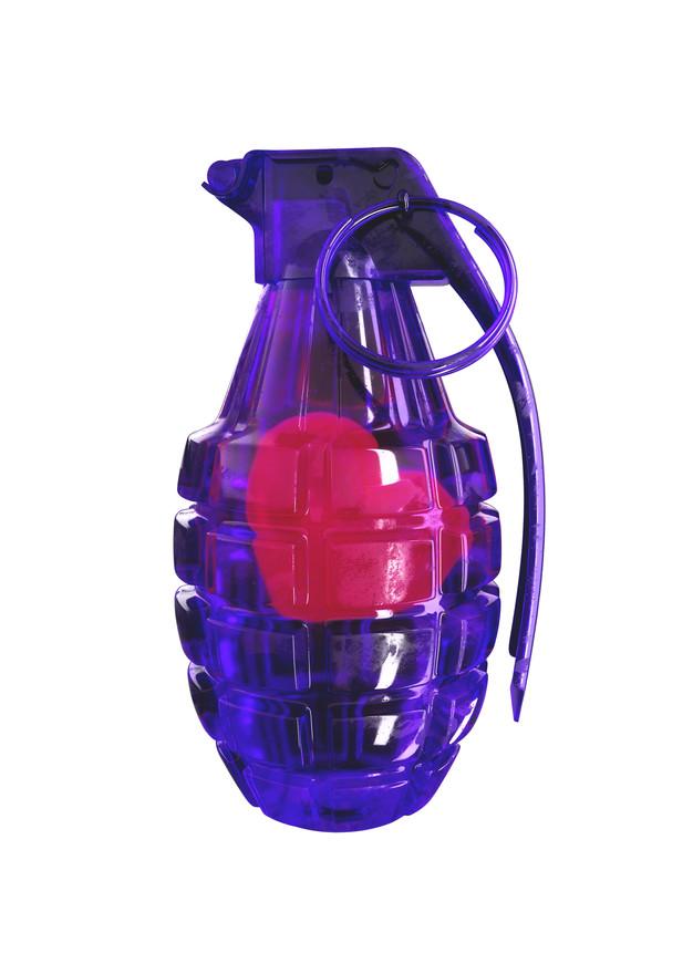 Heart Attack Purple