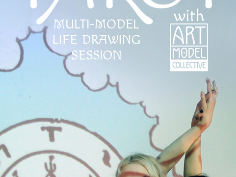 Tues 29th Jan Life Drawing: Tarot & Archetypes with Art Model Collective