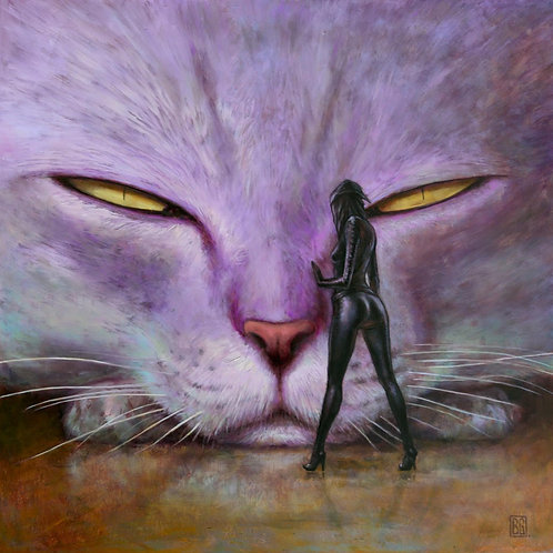 As Purr Usual By Brad Gray