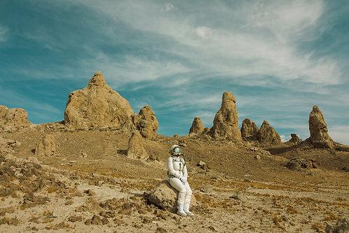 The Lonely Astronaut (02) By Karen Jerzyk