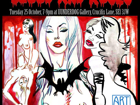 25th Oct: Life Drawing Class with Art Model Collective
