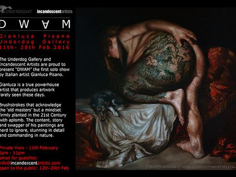 DWAM - A solo show by Gianluca Pisano