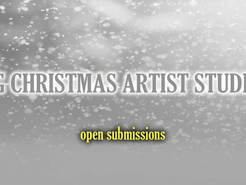 Open Submissions for THE BIG CHRISTMAS ARTIST STUDIO SALE