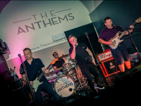 COMING UP LIVE MUSIC: Thurs 26th Sept Classic Covers with The Anthems