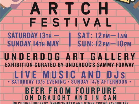 13-14th May: Artch Music & Beer Festival