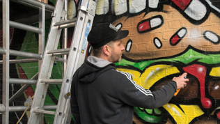 CHARLIE MCFARLEY CHIEF GRAFFITI ARTIST & SABOTEUR