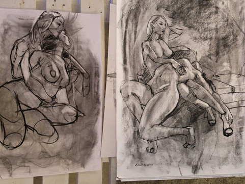 28th March: Charcoal Masterclass