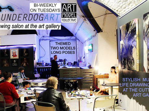 5th July - Life Drawing Class with Art Model Collective