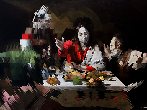 The Supper at Emmaus By Will Teather