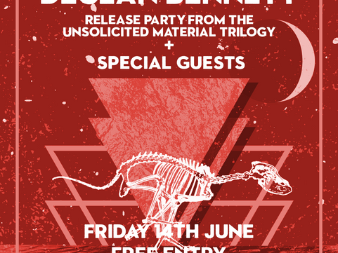 PAST LIVE MUSIC: Fri 14 June Live Music: Declan Bennett Release Party