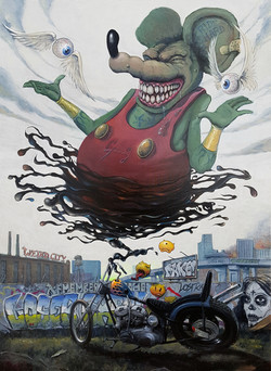 THE GNARLY RAT FINK