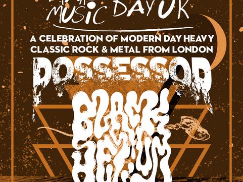 PAST LIVE MUSIC Fri 21st June: Black Helium & Possessor for Make Music Day