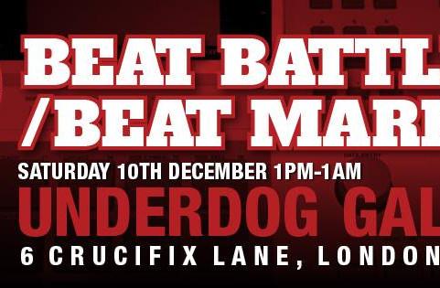 """10th Dec: Chop Shop """"Beat Battle & Beat Market"""""""