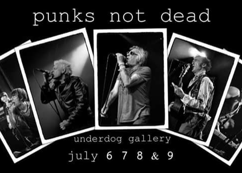6th - 9th July: Punks Not Dead