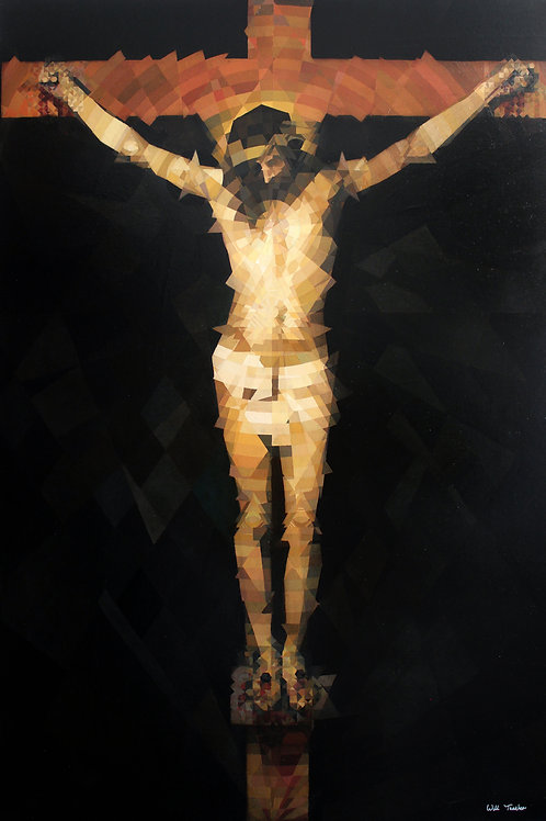 Crucifixion of Jesus (after Valazquez) By Will Teather