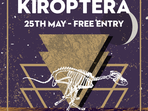 PAST LIVE MUSIC: Sat 25th May Kiroptera Live at The Underdog London