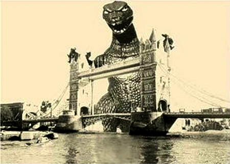 GODZILLA @ TOWER BRIDGE