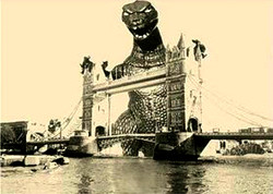 GODZILLA @ TOWER BRIDGE