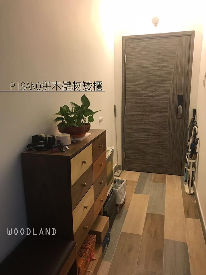 PISANO 拼木儲物矮櫃