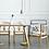 Thumbnail: SAKA 白橡木手工編織餐椅
