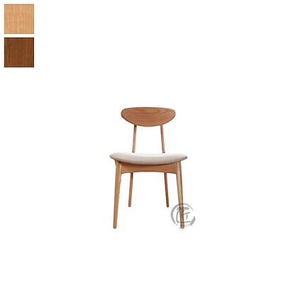 DENJI 白橡木多色餐椅