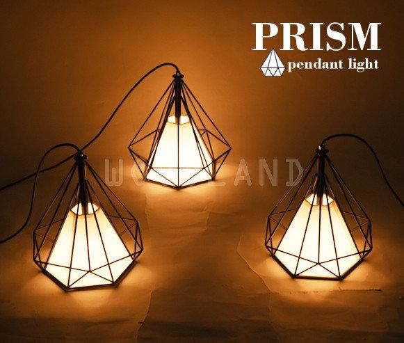 PRISM 鑽石造型掛燈