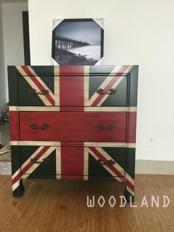 BRITT 英國國旗儲物櫃