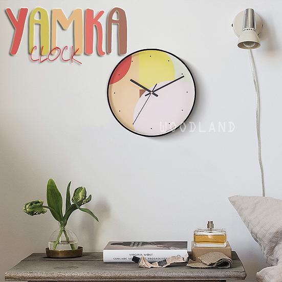 YAMKA 靜音掛鐘