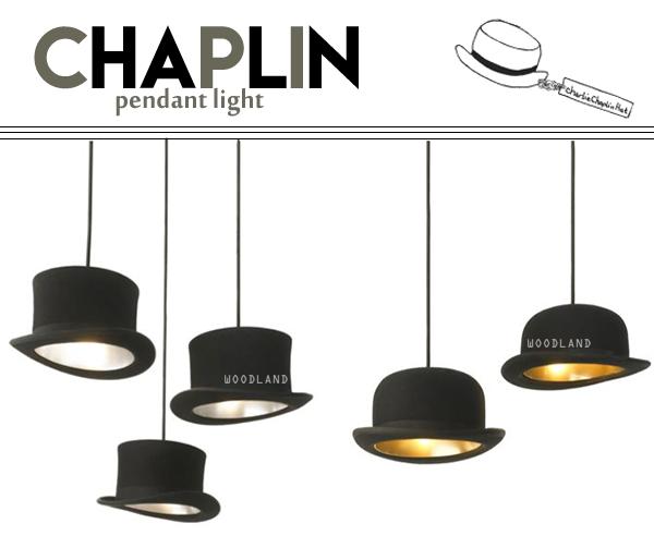 CHAPLIN 高帽造型吊燈