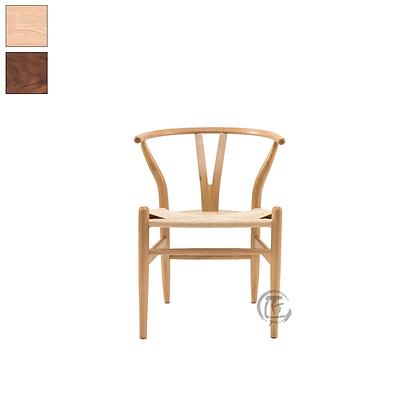 SAKA 白橡木手工編織餐椅