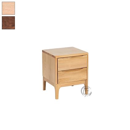 RIN 白橡木床頭櫃