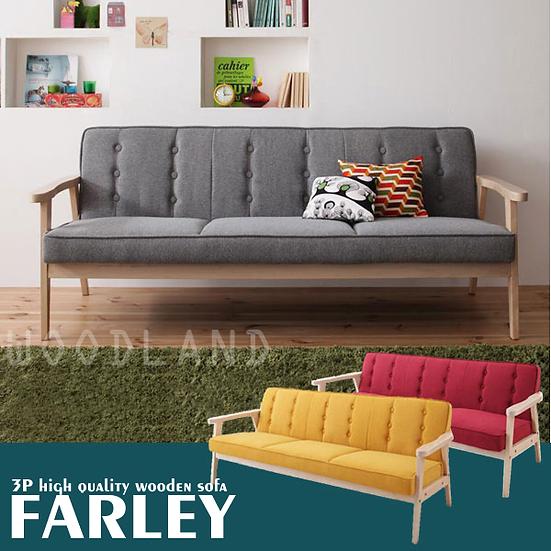 FARLEY 3座位簡約木梳化
