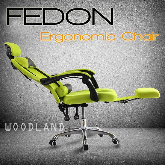 FEDON 人體工學 辦公椅 電腦椅 連腳踏