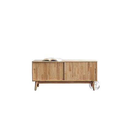 RIKA 橡膠木電視櫃