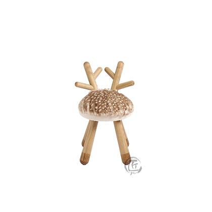 HISA 小鹿造型白蠟木椅子