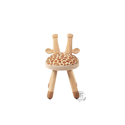 HISA 長頸鹿造型白蠟木椅子