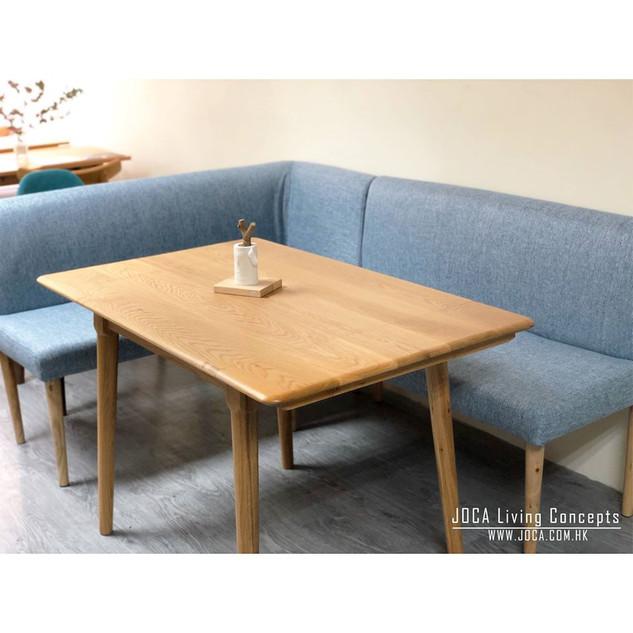 L shape sofa bench (2 pieces) $3000!